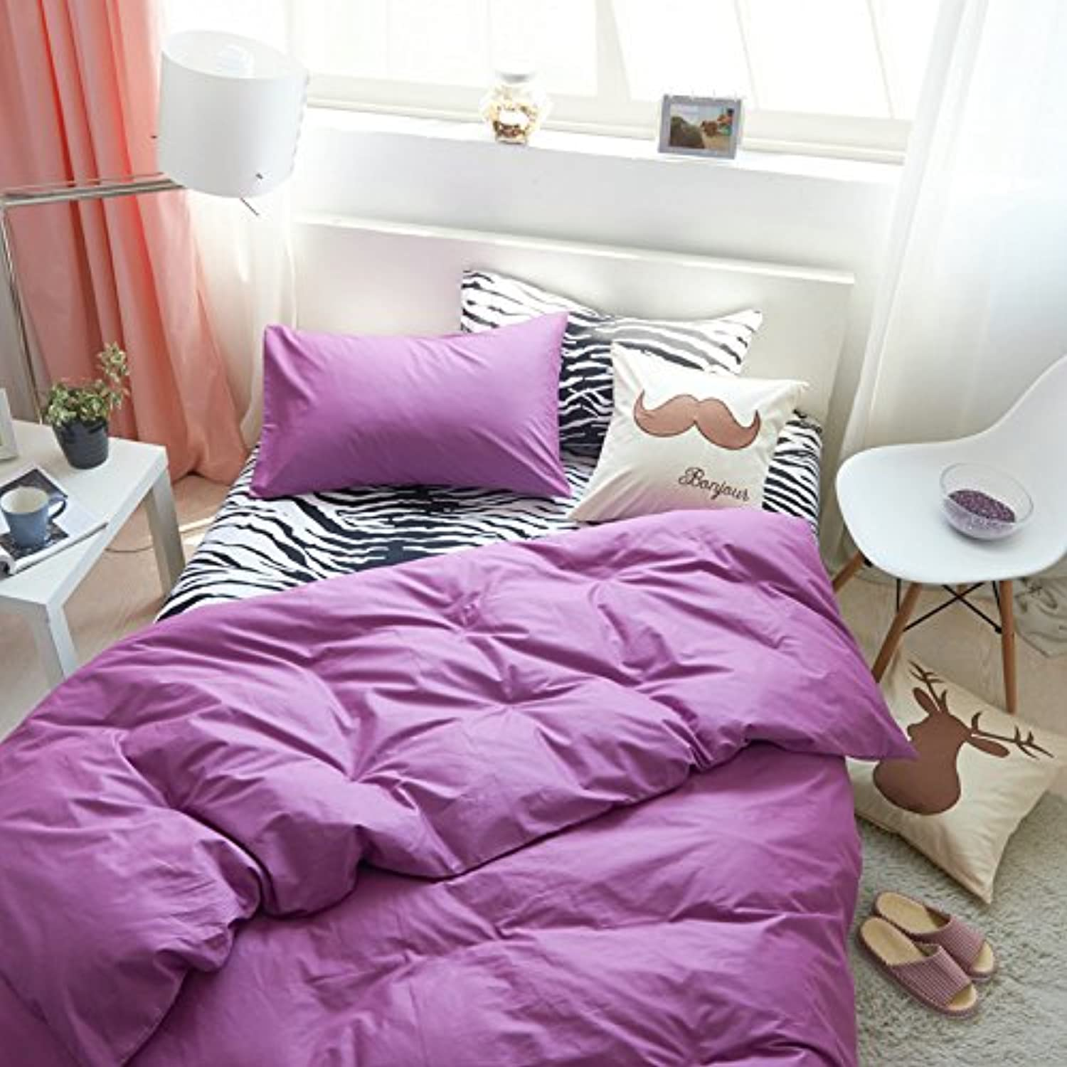 Duvet Duvet Duvet Cover & Pillowcase Set Bedding King Queen Bedding Bedroom Daybed,I Queen B071K8VNWG 90bd03
