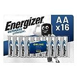 Energizer Pila AA de Litio, Paquete de 16 Unidades