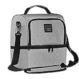 AUDICK Kühltasche Klein, Aufgerüstet Lunchtasche Isolierte für Herren/Damen/Kinder mit Zwei...