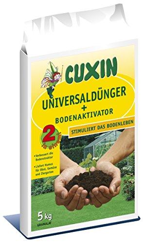 CUXIN DCM Universaldünger + Bodenaktivator 5 kg