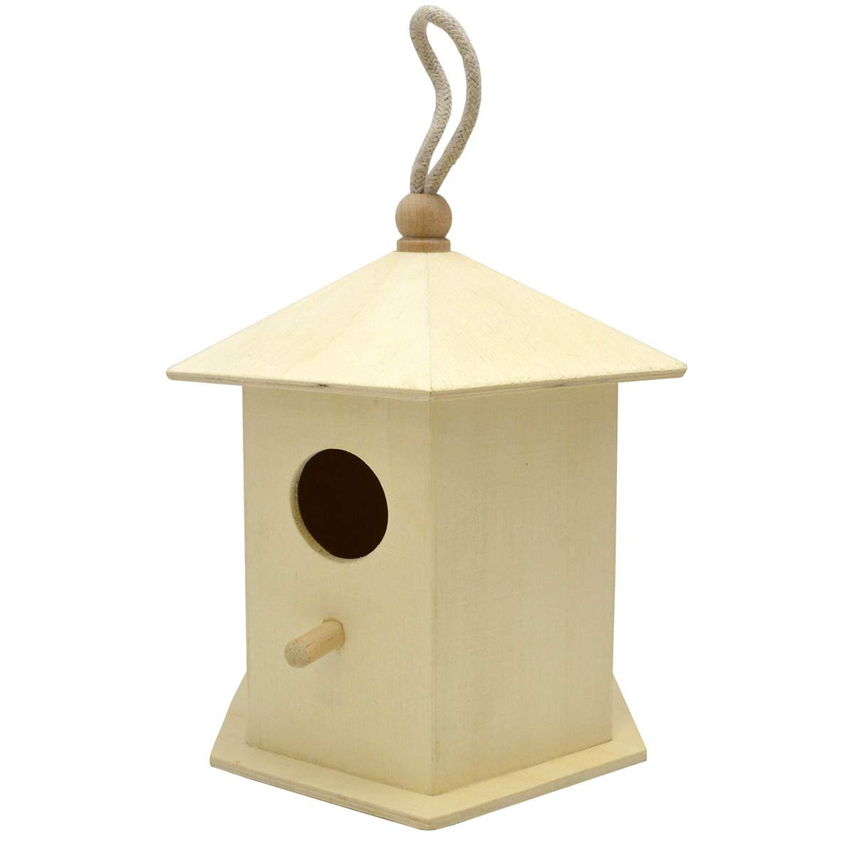 Tulip Laras Crafts Decorative Bird House Approximately 6 inches x 5 inches x 7 inches