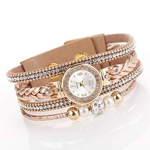 Hoge Kwaliteit Mooie Mode Vrouwen Armband Horloge Dames Horloge Casual Ronde Analoge Quartz Pols Armband Horloge voor Vrouwen Klok