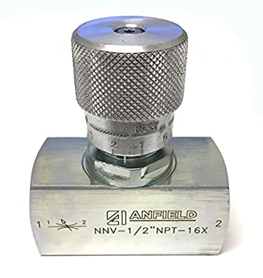 """1/2"""" Needle Valve by Anfield Industries by Anfield"""