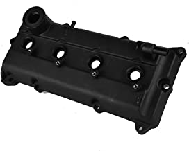 Qiilu Engine Turbo Valve Cover with Gasket for Nissan Altima SENTRA 2.5L 2002 2003 2004 2005 2006 13264-3Z001 Turbo Valve Cover