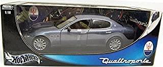 1/18 Scale Hot Wheels Maserati Quattroporte Slate Blue B7003 by Hot Wheels