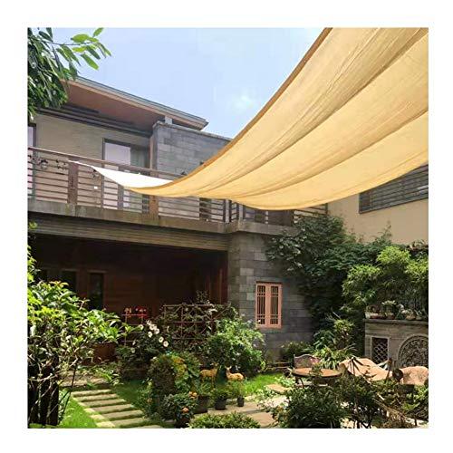 LJIANW Malla Sombra De Red 90% Bloqueador Solar Panel De Sombra Toldos De Jardín, Borde Grabado con Ojales Jardín Pantallas De Privacidad For Balcón Patio, 22 Tamaños (Color : Beige, Size : 3x5m)