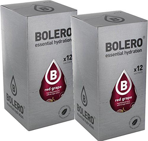 Bolero Drinks Red Grape 24 x 9g