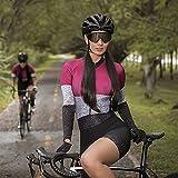 Triathlon Frauen Radfahren Jersey langärmelige einheitliche radfahren kleidung special sport shirt radfahren kleidung anzug (Color : 20 86 3, Size : Small)
