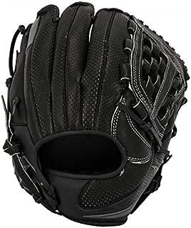 Nike Prospect MVP Edge Youth Little League Baseball Fielding Glove Black/Wolf Grey Size 11.50 inch Left Hand Throw