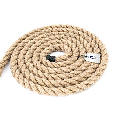 50m corda di juta 6 mm riccio naturale