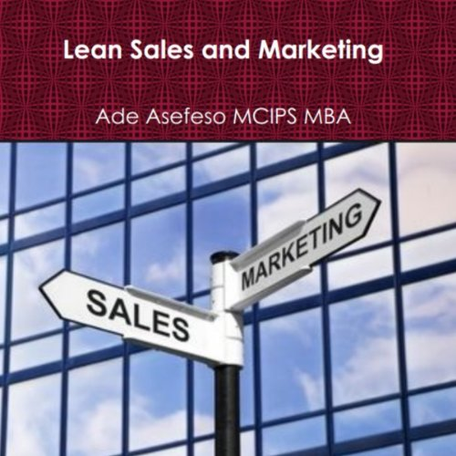Lean Sales and Marketing cover art