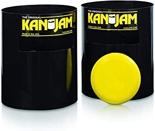 Kan Jam Original Disc Throwing Game - Perfect for Outdoors, Beach, Backyard and Tailgates