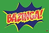 The Big Bang Theory Bazinga Icon Maxi Poster