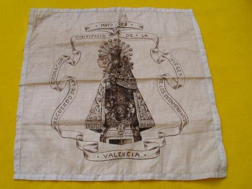 Antigua Imagen - Old Picture : Recuerdo de la Coronación Pontificia de la VIRGEN DE LOS DESAMPARADOS - Valencia 1923