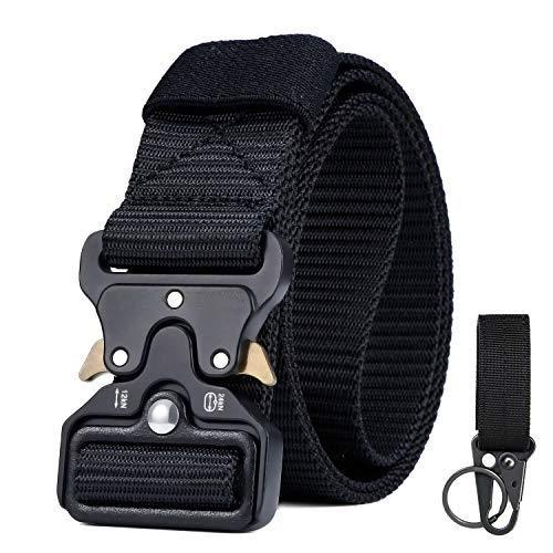CLIPSEAM Cinturón Táctico 120 cm adaptable , Cinturón Militar de Nailon de...