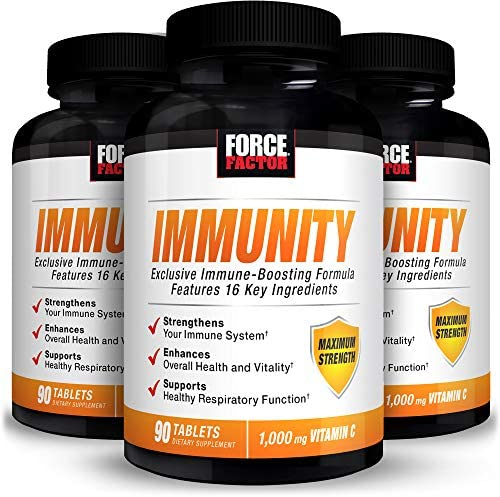 Force Factor Immunity Immune Support Booster with Elderberry 1000mg 270 Count product image
