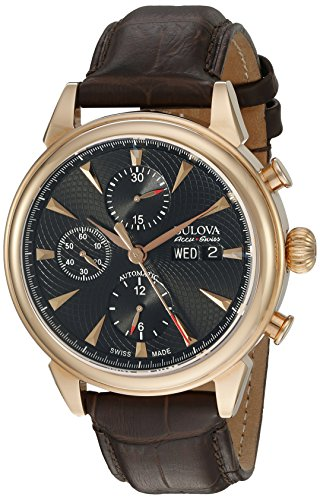 Brown Leather Casual Watch
