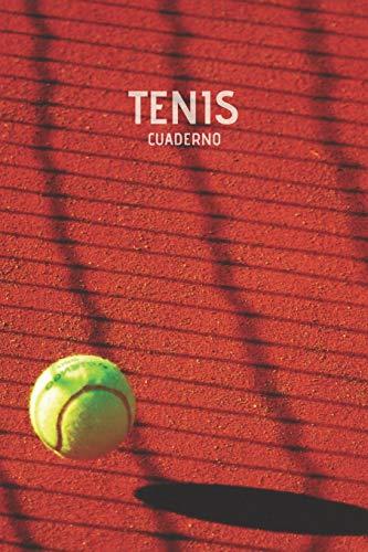 Tenis Cuaderno: Cuaderno Lineado Tenis Diario Regalo para Jugadores de Tenis