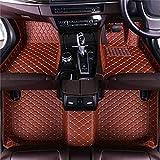 Para BMW X5 E70 5seat 2008-2013, Alfombrillas De Coche De Cuero, Antideslizantes Impermeable Rodeado Completo Protección para Todo Clima Revestimientos De Alfombra De Alfombrilla