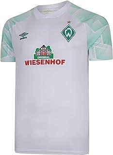 UMBRO Werder Bremen Auswärtstrikot 20/21 Kinder weiß - YXL