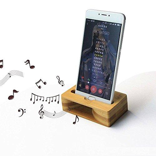 NETONBOX MX Soporte Amplificador Compatible con iPhone bocina Natural de Sonido para Celular, Loudspeaker…