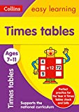 TIMES TABLES 7-11 AGES: Ideal for home learning (Collins Easy Learning KS2)