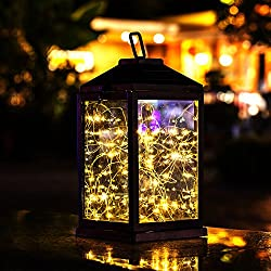 Solar Lantern Lights Metal Sunwind
