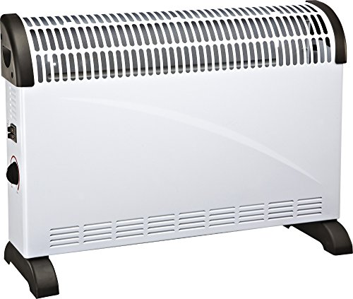 Prem-I-Air petit Silencieux 2 kW Portable électrique 2000 W Debout Ventilateur Radiateur-Blanc