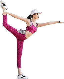 366975a88 SCRT Ropa De Yoga Traje Nueva Ropa De Fitness Sujetador Deportivo A Prueba  De Golpes Medias