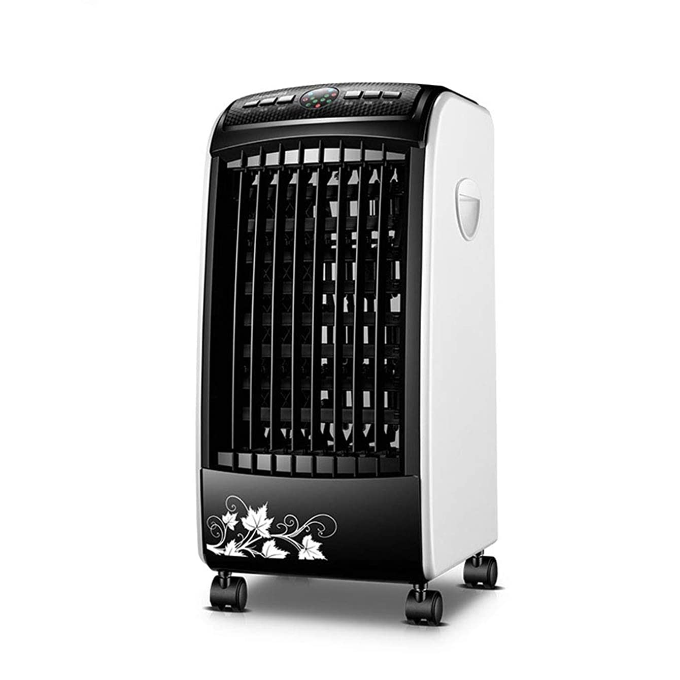 Air Cooler Evaporative Indoor Humidifier Or Vaneless Fan with Oscillation and Remote Control, Adjustable Wind Speed, Portable Small Air Conditioner