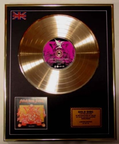 Black Sabbath Goldene Schallplatte Record Limitierte Edition/Sabbath Bloody Sabbath