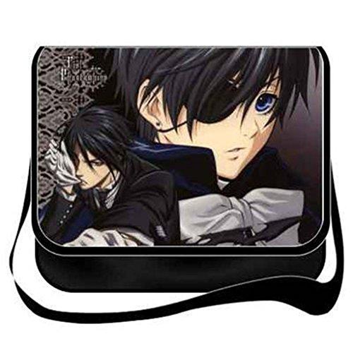 YOYOSHome Anime Black Butler Cosplay Messenger Bag Umhängetasche Handtasche Umhängetasche Rucksack Schultasche