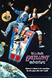 Bill and Teds Excellent Adventure Key Art Retro Vintage Style Classic 80s Movie Poster Be Excellent to Each Other Cool Wall Decor Art Print Poster 24x36