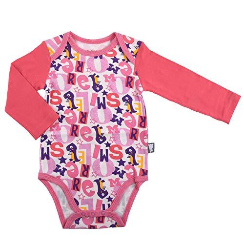 Petit Béguin - Body bébé fille manches longues More Smile - Taille - 12 mois