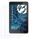Bruni Schutzfolie kompatibel mit Dell Venue 8 Pro Folie, glasklare Bildschirmschutzfolie (2X)