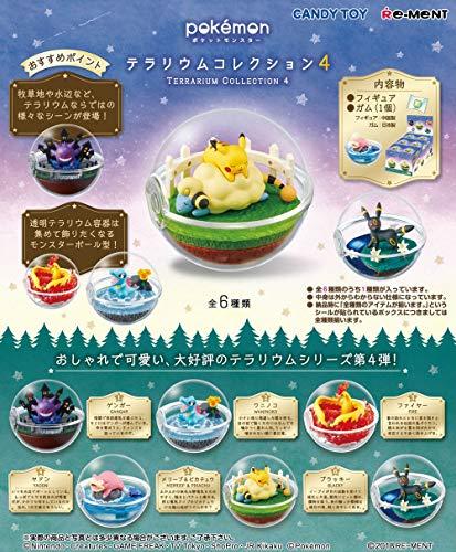 THIRD PARTY - Set De 6 Figurine Pokemon Pokeball Terrarium Serie 4 - 4521121204239