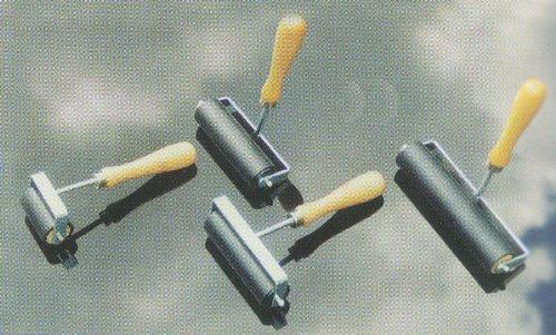 Colourful Arts 100mm Schwere 4 Gummi Linoleum Kunstdruck Roller