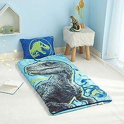3. Jurassic World Blue Sleeping Bag
