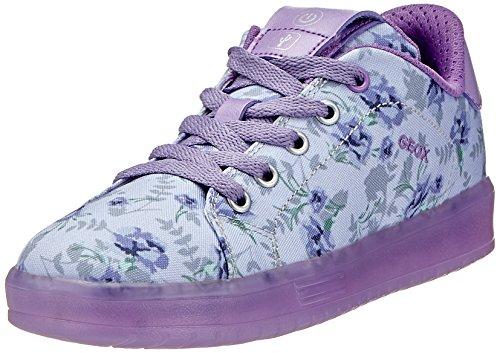 Geox Mädchen J Kommodor  B Low-top Sneaker, Violett (Lt Lilac/Lilac), 33 EU