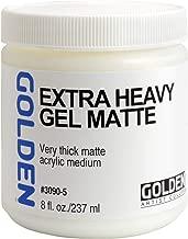 Golden Acryl Med 8 Oz X-Heavy Gel Matte