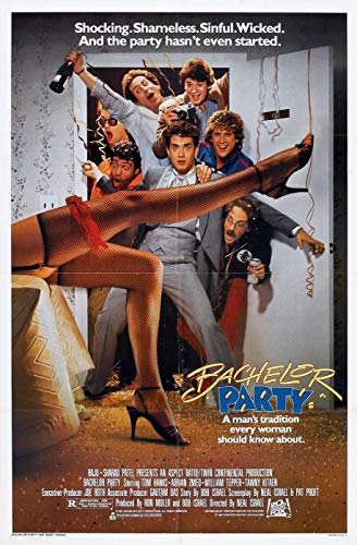 ISSICARHO Bachelor Party (1984) Movie Wall Art Pretty Poster Size 60cmx90cm(24