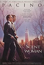 Scent of a Woman Al Pacino Chris O'Donnell Original Single Sided Rolled 27x40 Movie Poster 2009
