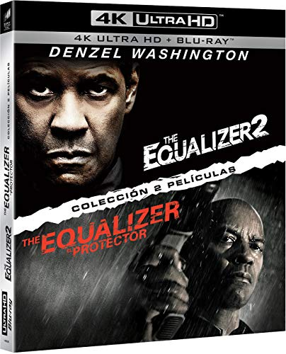Pack: The Equalizer 1 + The Equalizer 2 (UHD + BD) [Blu-ray]