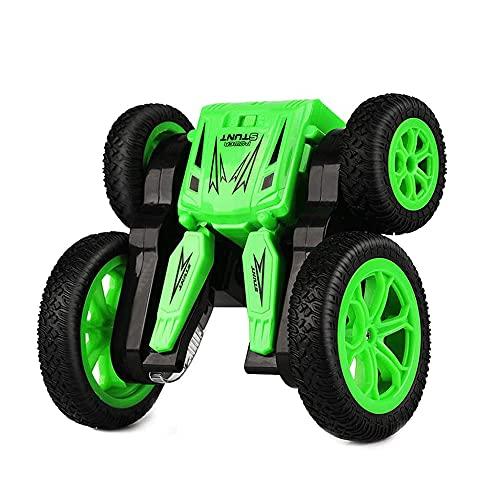 KGUANG Tumble Double Side Blossom Stunt Coche RC para niños Rotación de 360 ° Flip Deformación Vertical 2.4G Control Remoto Buggy Niños y niñas Juguetes Vehículo Camión