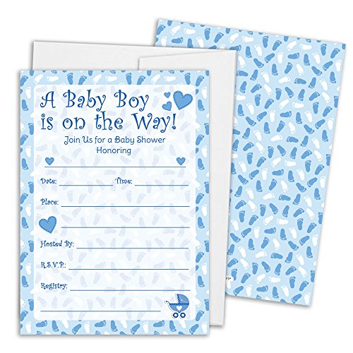 monster baby shower invitations - 6