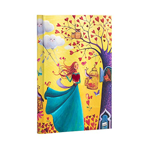 Paperblanks Cuadernos de Tapa Dura Hojas de Otoño   Rayado   Midi (130 × 180 mm)