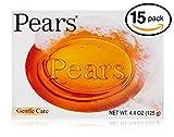Pears Soap 4.4 oz Each bars (Gentle Care (Pack of 15 Bars (100gm Each Bar)))