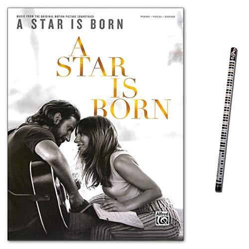 A Star is born - Musik aus dem Original-Film Soundtrack - Songbook für Klavier, Gitarre, Gesang - Lady Gaga und Bradley Cooper