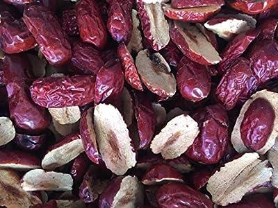 jujuba de frutas secas cortar rebanadas de alto grado chino fechas rojas Hong Zao 720 gramos de Shanxi