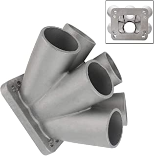 LH Cast Stainless Steel 6-1 Turbo Header Manifold Merge Collector T3 T4 with T3 Flange